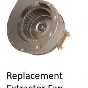 Replacement Extractor Fan for Panther Dryers