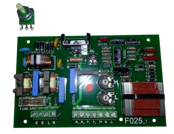 FO25 controller card