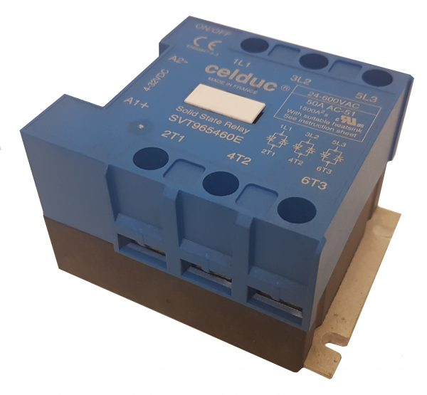 Celduc Three Phase relay for Panther Dryers